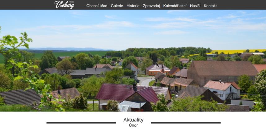Obec Všekary